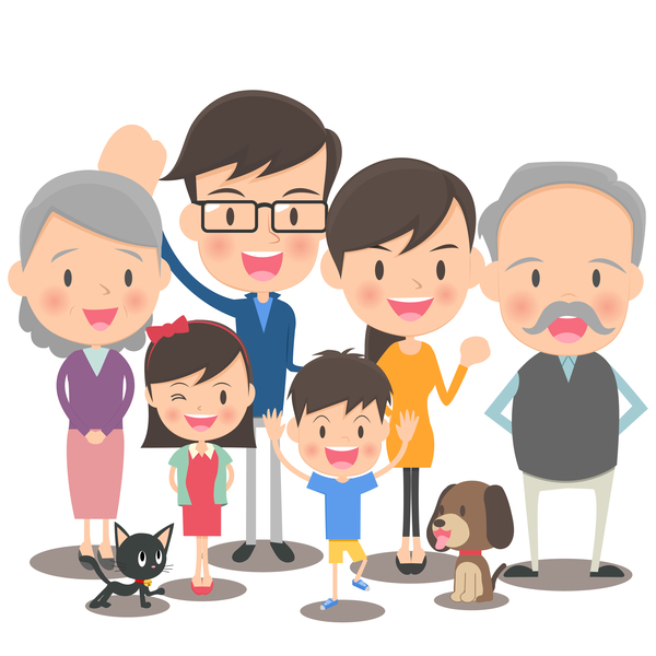 family cartoon